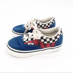 VANS Red White Blue Skateboard Shoe